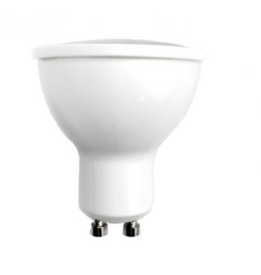 Bombilla LED GU10 6W Dimerable. Ángulo 105º. Aluminio. Elite