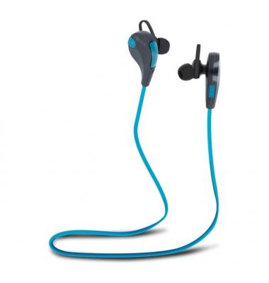Auriculares Bluetooth BSH-100 Azul-Negro . Forever