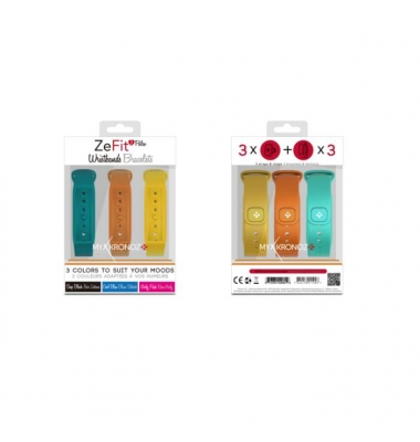 Recambio Pulsera MyKronoz ZeFit2 Pulse. 3 colores incluidos