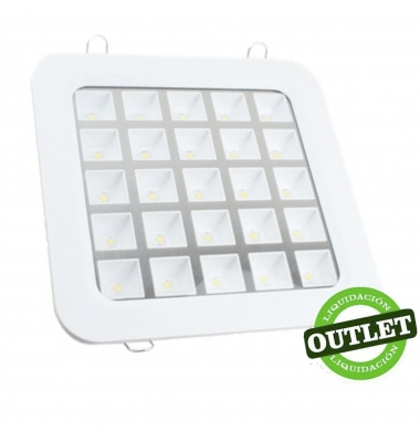 Downlight LED Interior 25W Round / Difusor Opaco