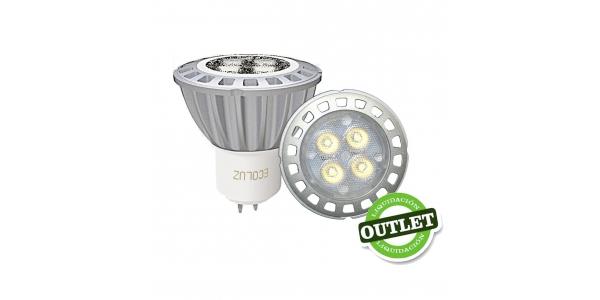 Bombilla LED MR16 7W Aluminio Priority