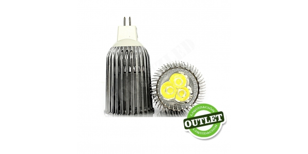 Bombilla LED MR16 9W Aluminio Economic