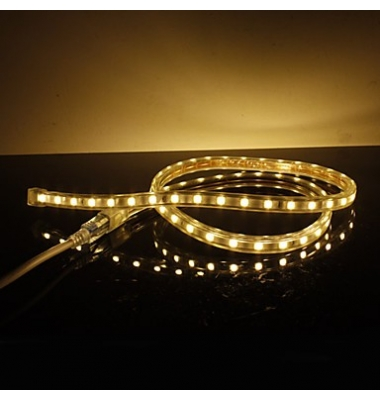 Tira LED 4.8W 220VAC. Flexible. 1 metro (60LEDs/m) SMD3528