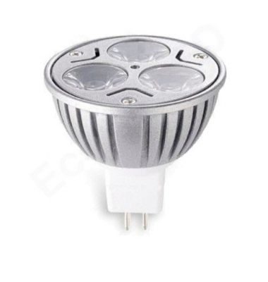 Bombilla LED MR16 3W Aluminio