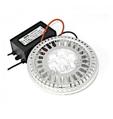 Bombilla LED AR111 12W. Luz Fría