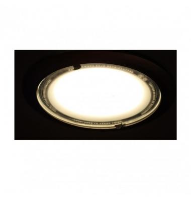 Downlight LED Eco Blanco 18W COB. Blanco Cálido. 1600 Lm. Ángulo 100º. LED Epistar. Factor Potencia 0.90