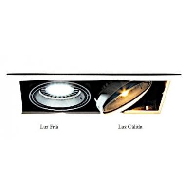 Bombilla LED AR111 12W. Blanco Frío. Ángulo 60º. 780 Lm