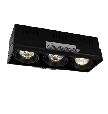 Foco Empotrar LED Interior 30W Box 3 luces