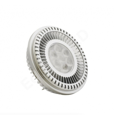 Bombilla LED AR111 18W - 220V. Blanco Cálido. Ángulo 60º. 1900 Lm