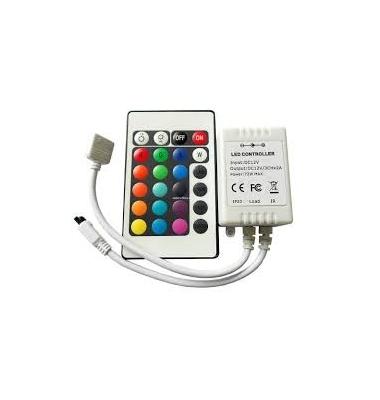 Controlador RGB 72W Infrarrojos
