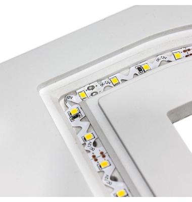 Tira LED Contorno. 12W/m.12VDC. SMD2835. Carrete 5 metros. 60 LEDs/m. Interior-IP20