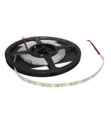 Tira LED Alto rendimiento. 12W/m.12VDC. SMD2835, P20. Blanco Cálido de 3000k. 5 metros