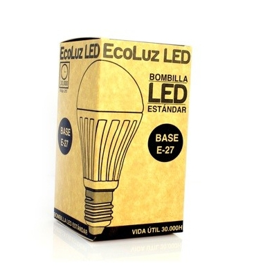Bombilla LED E14 Tubular 7W. Blanco Cálido de 3000k, Ángulo 360º