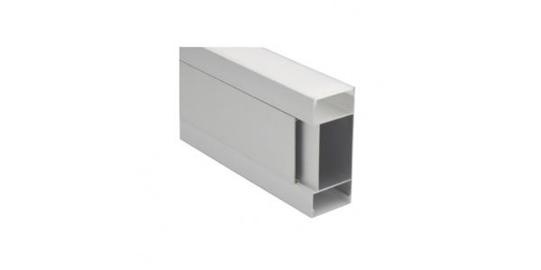 Perfil Aluminio Anodizado Apply. Tiras LED. Para Pared. 1 Metro