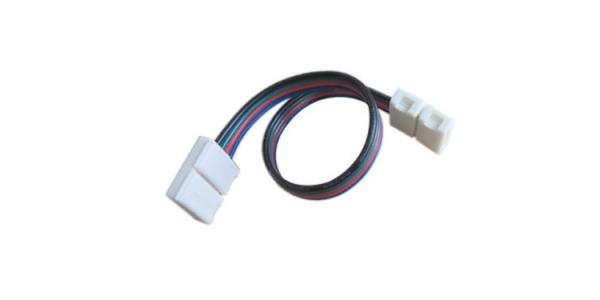Cable conexión 2 tiras RGB cable de 15cm