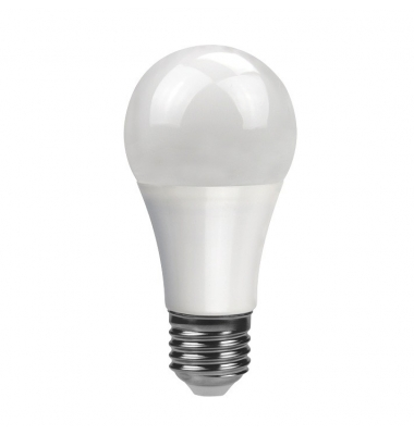 Bombilla LED E27 A60 10W Regulable. Ángulo 270º. Blanco Cálido y Blanco Natural