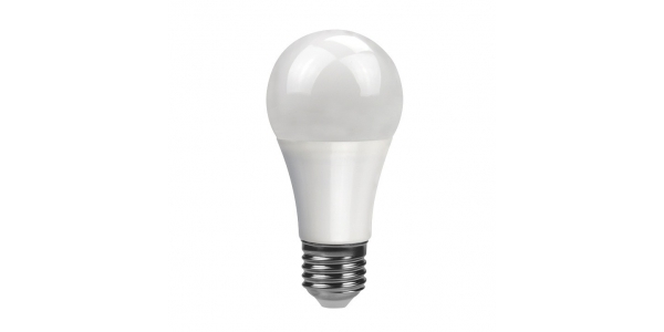 Bombilla LED E27 A60 10W Regulable. Ángulo 270º. Blanco Cálido y Blanco Natural