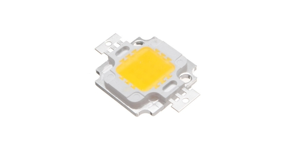 Chip LED COB Proyector 10W. Luz Cálida