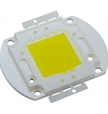 Chip LED COB Proyector 30W. Luz Fría