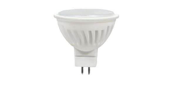Bombilla LED MR16 7.5W. Ángulo 105º. Cerámica Elite