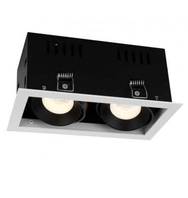 Foco Empotrar LED Interior 20W Retail 2 luz