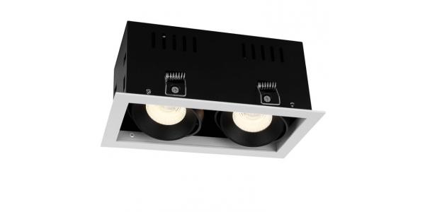 Foco Empotrar LED Interior 20W Retail 2 luz