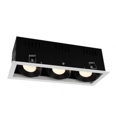 Foco Empotrar LED Interior 30W Retail 3 luces