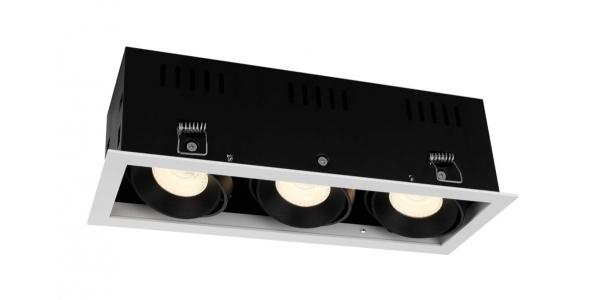 Foco Empotrar LED Interior 30W Retail 3 luces
