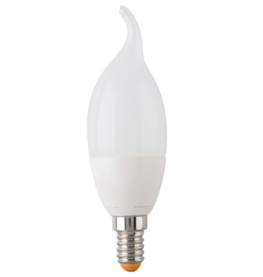 Bombilla LED E14 Vela Lujo 5.5W. Luz Natural