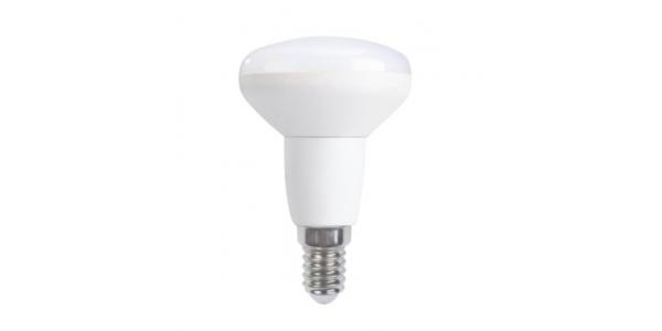 Bombilla LED E14, Reflectora, R50, 6W. 4000k, Blanco Natural, Ángulo 120º