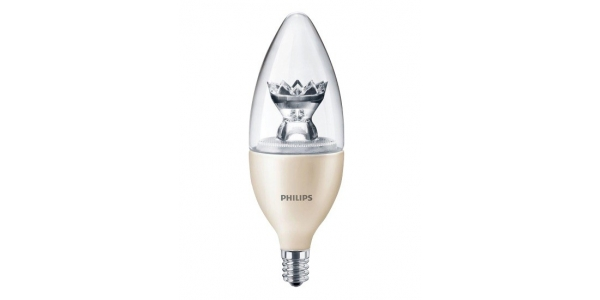 Bombilla LED Philips Vela E14 6W 360º - 2700k Regulable