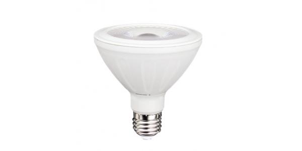 Bombilla LED PAR30 E27 13W COB. Ángulo 38º. Blanco Frío
