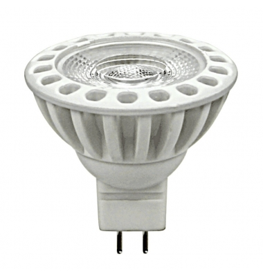 Bombilla LED MR16 7W COB. Luz Natural. Ángulo 38º. Cerámica