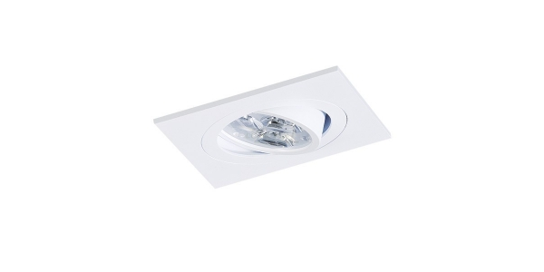 Foco empotrable Spot. Para Bombilla LED GU10 y MR16