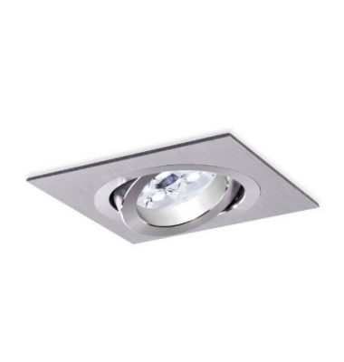 Foco empotrable Aluminio. Spot. Sistema LED GU10 y MR16