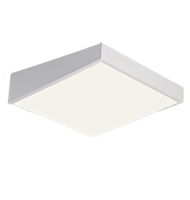 Plafón Superficie LED 36W. 4000k. Losango