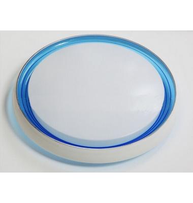 Plafón Superficie LED 20W Blanco-Azul. Galaxy