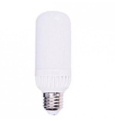 Bombilla Tubular LED E27 7W. 360º. Luz Cálida o Natural