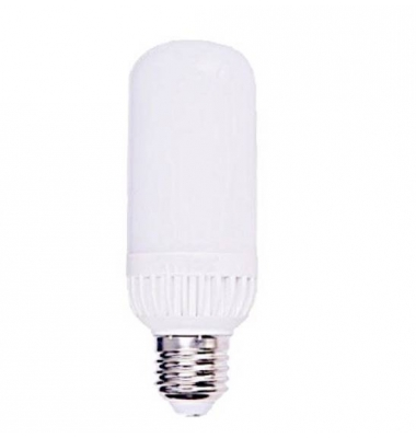 Bombilla Tubular LED E27 7W. 360º. Luz Fría