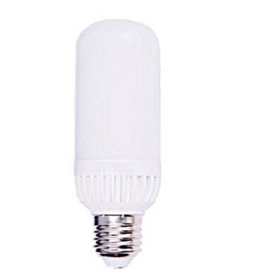 Bombilla Tubular LED E27 12W. 360º. Luz Fría
