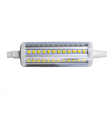 Bombilla LED R7s 10W 118mm. Lineal