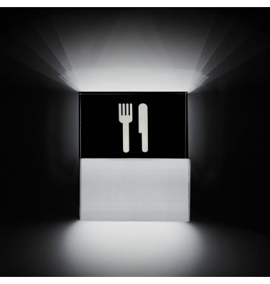 Aplique Pared LED Restaurant. 3W. Luz Cálida