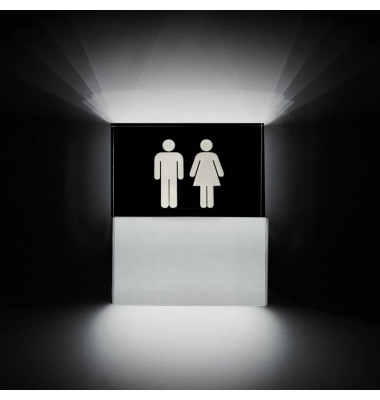 Aplique Pared LED Toilette. 3.5W.