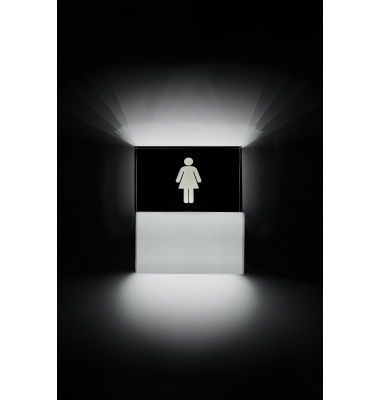 Aplique Pared LED Toilette Mujer. 3.5W.