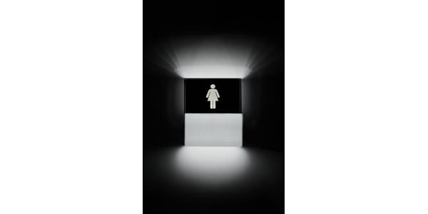 Aplique Pared LED Toilette Mujer. 9W. Fabricado a medida