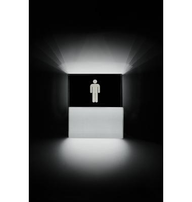 Aplique Pared LED Toilette Hombre. 4.5W.