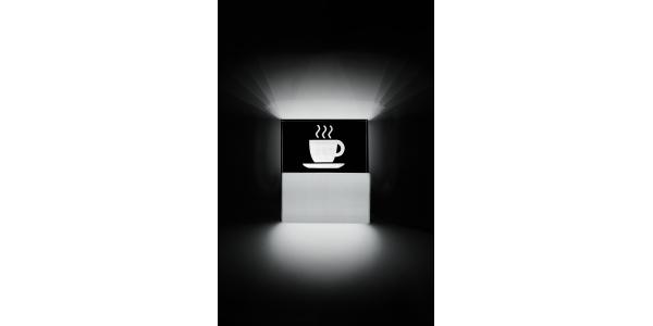 Aplique Pared LED Coffee. 3.5W.