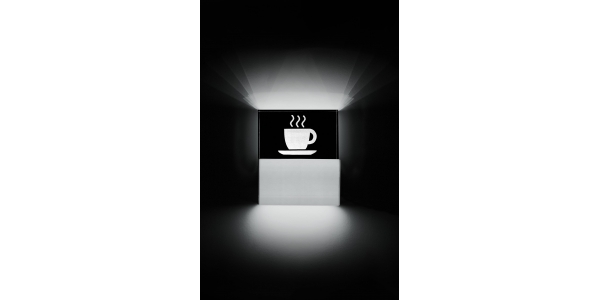 Aplique Pared LED Coffee. 3.5W.