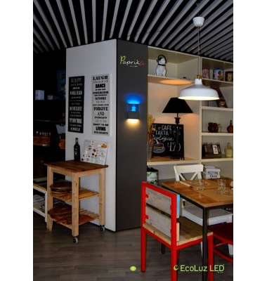 Aplique Pared LED Coffee. 9W.