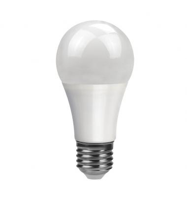 Bombilla LED E27 A60 Estándar 10W. 3000k, Blanco Cálido. Ángulo 240º